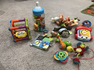 Assorted baby toys for Sale in Cherry Hill, NJ