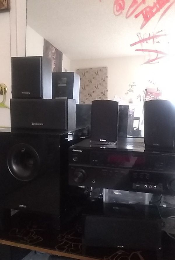 Pioneer Receiver Home stereo system