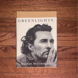 Greenlights Novel Matthew McConaughey for Sale in Westerville,  OH
