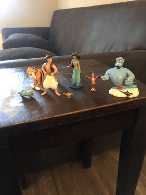 Disney's Aladdin figures for Sale in Raleigh, NC