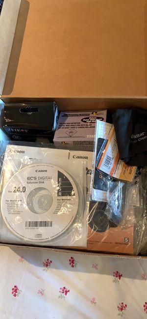 Canon rebel T3i + lenses for Sale in Philadelphia, PA