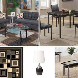 """TODAY""""S SPECIAL GET THIS package deal is back. This package deal includes Sofa and Loveseat 🛋 3 piece coffee table set 5x8 Rug 5 piece dining tab for Sale in Chino, CA"""