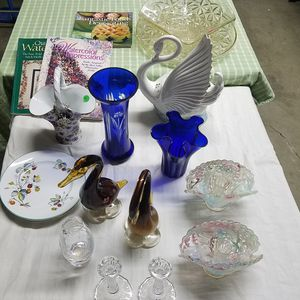 Murano hand blown glass, collectibles, desk, stove, misc for Sale in Tracy, CA