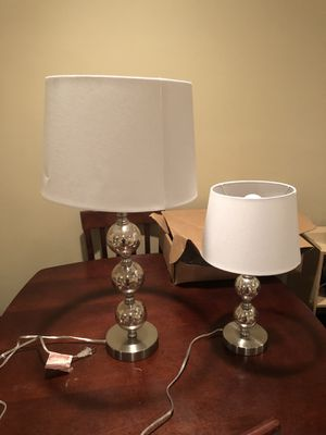 Matching silver lamps for Sale in Santa Monica, CA