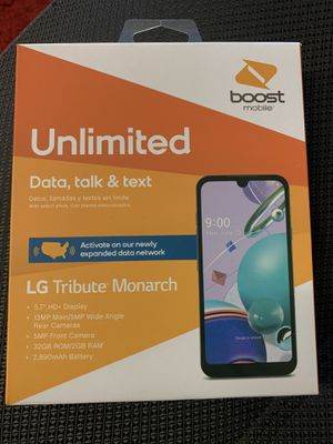 Cricket & Metro PCS customers get LG Tribute Monarch FREE, by switching to BOOST MOBILE for Sale in Houston, TX