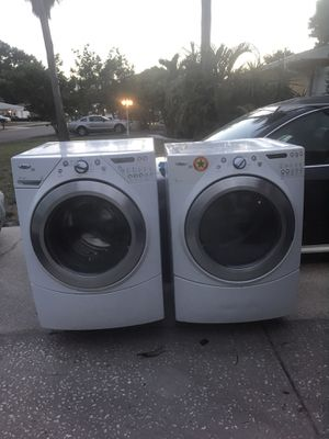 Whirlpool duet /Energy Star/ Washer and Dryer IS PENDING PICK UP for Sale in Seminole, FL