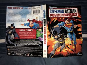 Superman Batman Public Enemies DVD for Sale in Miami Gardens, FL