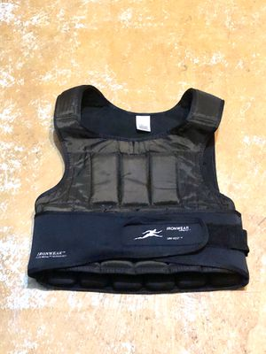 Workout vest weights for Sale in Carrollton, VA