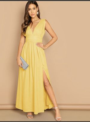 Yellow Dress Shein for Sale in Rockville, MD