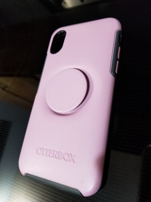 New iPhone x / xs Popsoket Otterbox Case for Sale in Bellevue, WA