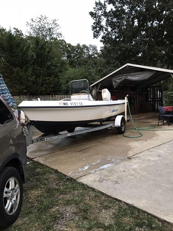 93 sea master Center console 17feet 70hp Johnson outboard boat