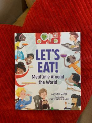 NEW Signed by Author Let's Eat! Mealtime Around the World - Personalized for Sale in Pembroke Pines, FL