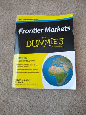 Frontier Markets for Dummies® by Al Emid, Gavin Graham and Dummies for Sale in Garner, NC