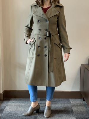 Burberry Wool Full Length Trench *Classic Fall Item* for Sale in Mill Creek, WA