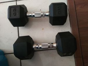 20 lb dumbells for Sale in Las Vegas, NV