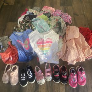 Assortment Of Toddlers Shoes & Clothes for Sale in Walnut, CA