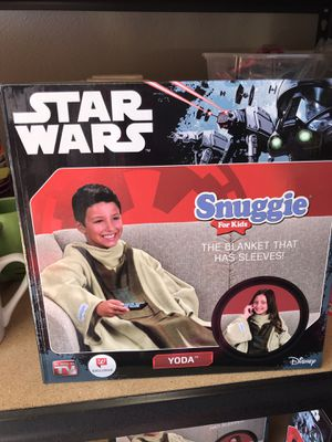 Kids Star Wars YODA Snuggie ONE SIZE for Sale in McMinnville, OR