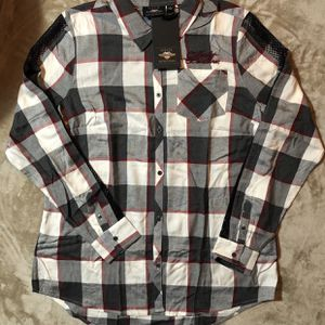 Harley Davidson Women WINGED HEART PLAID SHIRT -Size XL for Sale in Carson, CA