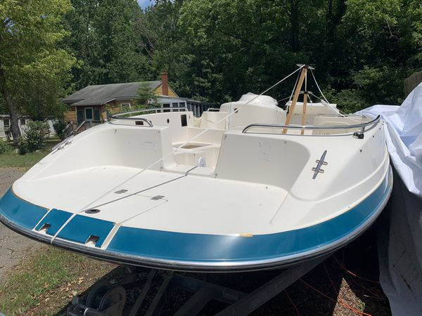 1995 Cobia 25ft Deck Boat Brand New Mercury 350 with