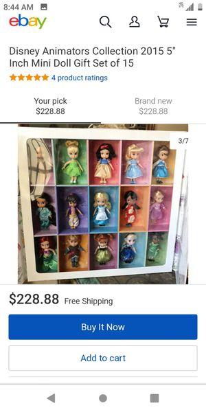 Disney Animator's Dolls for Sale in Baldwin Park, CA