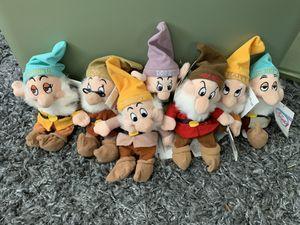 Seven Dwarfs - Disney Beanie Babies for Sale in Orient, OH