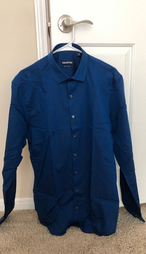 Kenneth Cole Unlisted Blue Dress Shirt for Sale in Brentwood, TN