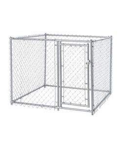 Lucky Dog Single Door Chain Link Outdoor Dog Kennel 5'x5'x4'H for Sale in Citrus Springs,  FL