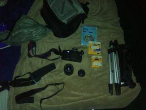 Cannon Rebel G/Sony Nex6 Digital Camera Bundle for Sale in Round Rock, TX