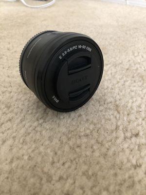 Sony E 16-50mm f/ 3.5-5.6 lens for Sale in Sterling, VA