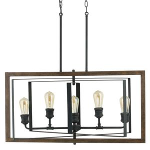 Industrial chandelier new in box for Sale in Costa Mesa, CA