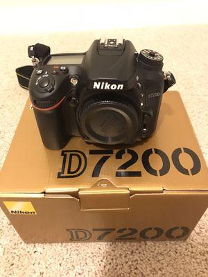 Nikon D7200 DSLR for Sale in Clackamas, OR