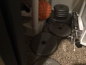Weight set moving must sell ASAP for Sale in Denver, CO