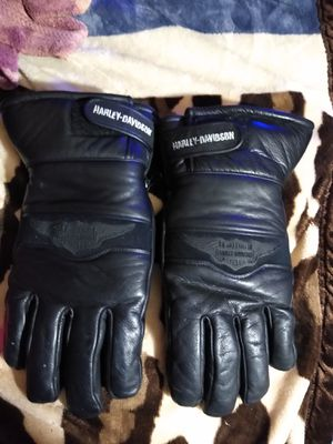 Size large men's Harley Davidson riding gloves for Sale in Rice, VA