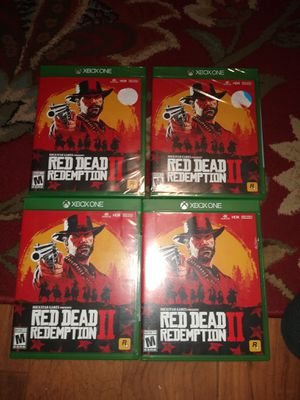 Red dead 2 Xbox for Sale in Oakland, CA