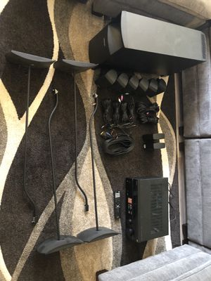 Bose aqustimas and sony receiver for Sale in El Cajon, CA