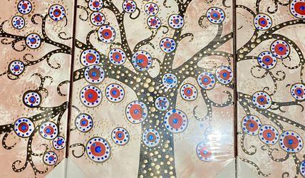 Vibrant Tree Wall Painting for Sale in Arlington,  VA