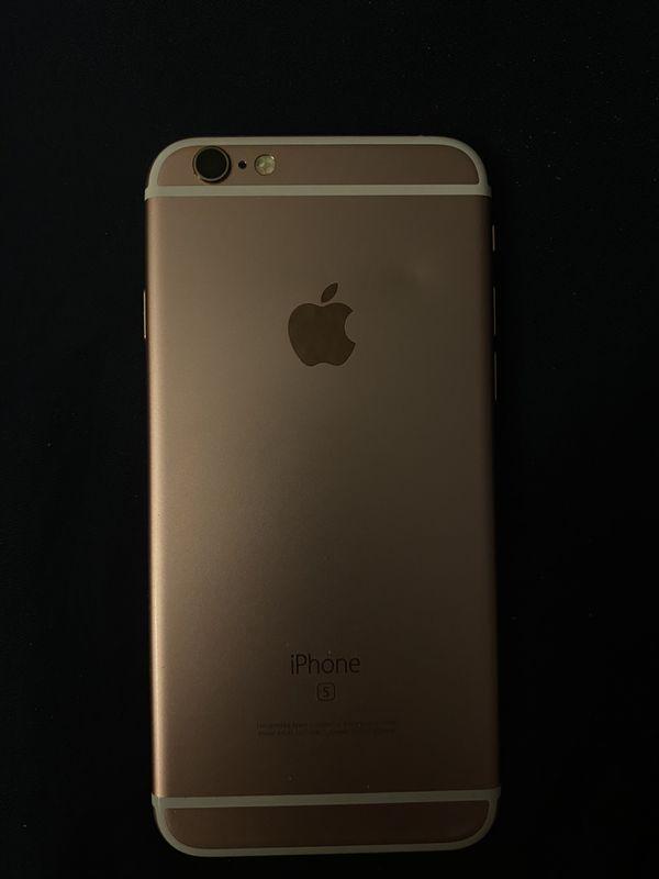 iPhone 6s Rose Gold 128 GB unlocked