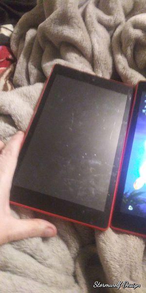 3 Kindle fire tablet hd8 orange obo for Sale in Wichita, KS