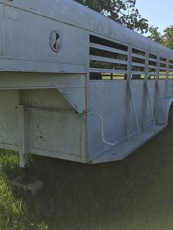 Stock Trailer - Gooseneck for Sale in Burleson,  TX