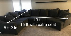Gray sectional couch for Sale in Avondale, AZ