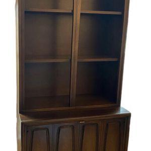 Broyhill Emphasis Cabinet Console Wall Unit Hutch for Sale in Algonquin, IL