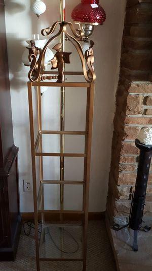 Antique metal Shelf with for Sale in BRECKNRDG HLS, MO