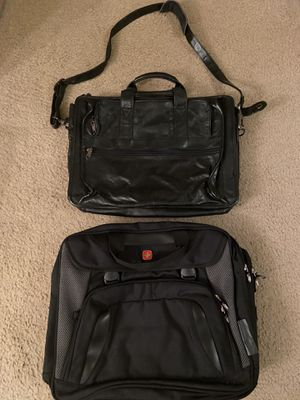 Laptop Bags / One is Leather for Sale in Lugoff, SC