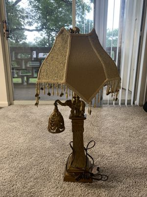 Elephant antique lamp for Sale in Exton, PA