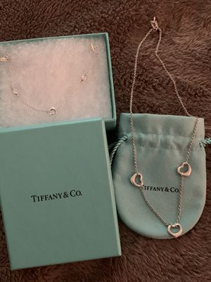 Tiffany's necklace and bracelet for Sale in Ontario, CA