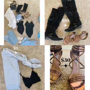 Women heels and clothes for Sale in Las Vegas, NV