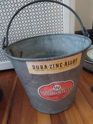 Farmhouse wheeling bucket for Sale in Belleville, NJ