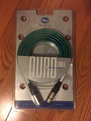 Blue Microphones Quad Cable - 20' XLR-XLR for Sale in Los Angeles, CA