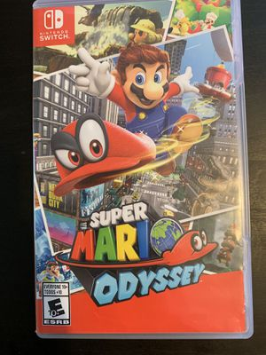 Super Mario Odyssey for Nintendo Switch for Sale in National City, CA