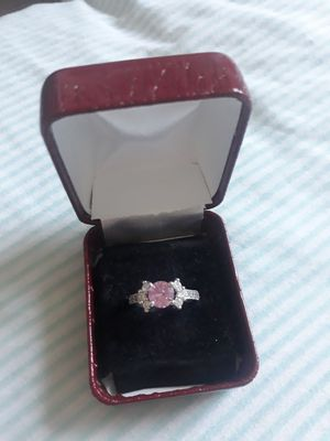 Rose quarts engagement ring for Sale in Seattle, WA